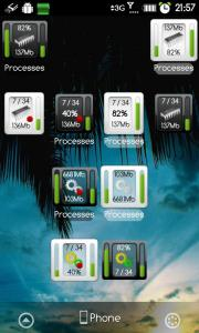 Process Monitor Widget (rus)