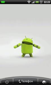 Dancing Droid Live Wallpaper