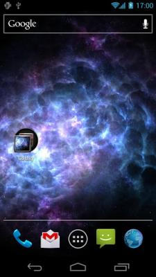 Ice Galaxy Live Wallpaper FREE