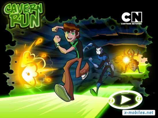Бен 10 Опасный забег / Ben 10 Cavern Run