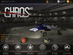 C.H.A.O.S Multiplayer Air War (Боевые вертолеты HD)
