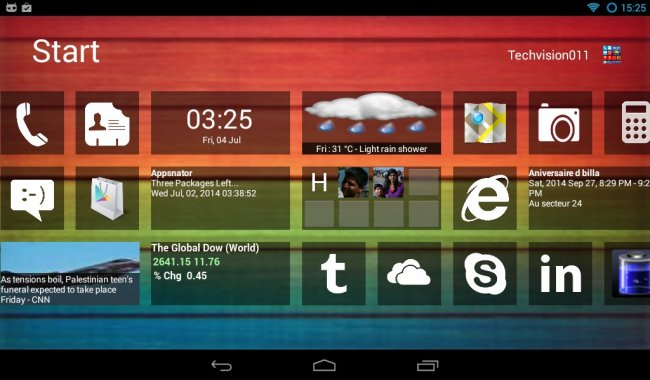 Home8+ like Windows 8 Launcher