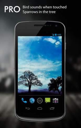 Blue Sky Pro Live Wallpaper