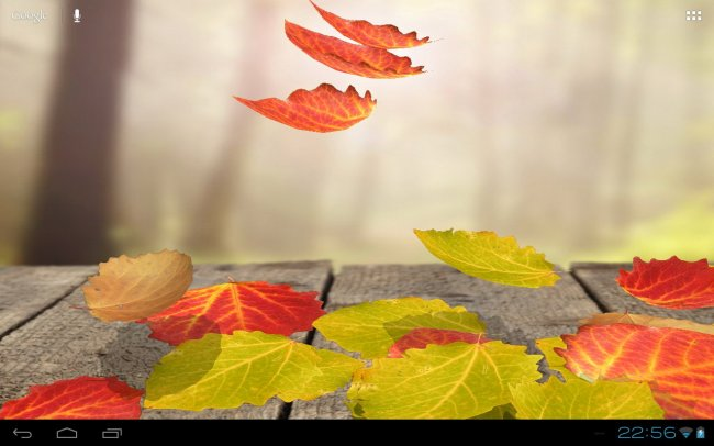 Falling Leaves Live Wallpaper