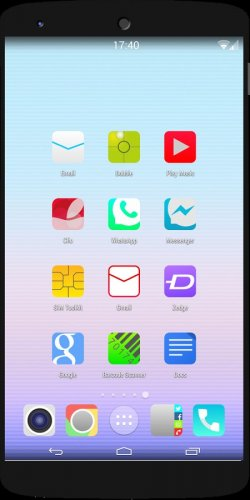 ios8 Quantum icon pack theme