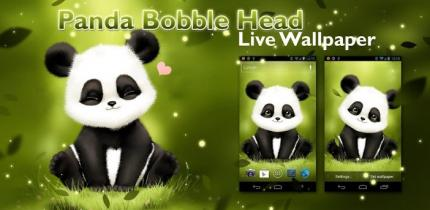 Panda Bobble Live Wallpaper